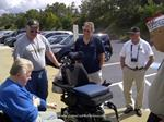 Donation of Electric Wheelchair with new batteries to Disabled Vietnam Vet. from CCVI. Staff members attended