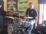 Rick LaMont, drummer CCVI member of Whiskey Whiskey Golf