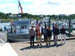 VFW Post 10274 Honor Guard at Sesuit Harbor welcome America's wounded Heroes