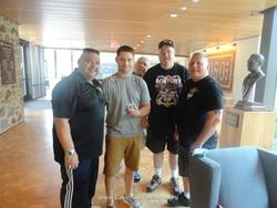 Click to view album: Walter Reed Visit & Pig Roast