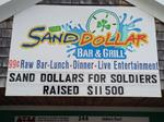 Cape Cod Veterans raised over $11,500 for soldiers at the Sand Dollar