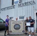 Walter Reed Military Medical Center Honors Joe Buscone of Northside Marina for his generous contributions to our Wounded Heroes.
