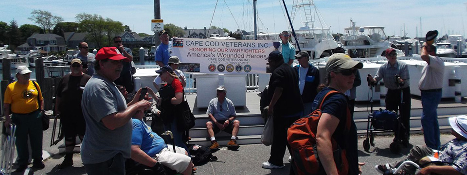 Annual Wounded Warfighters Fishing Derby, Falmouth, MA